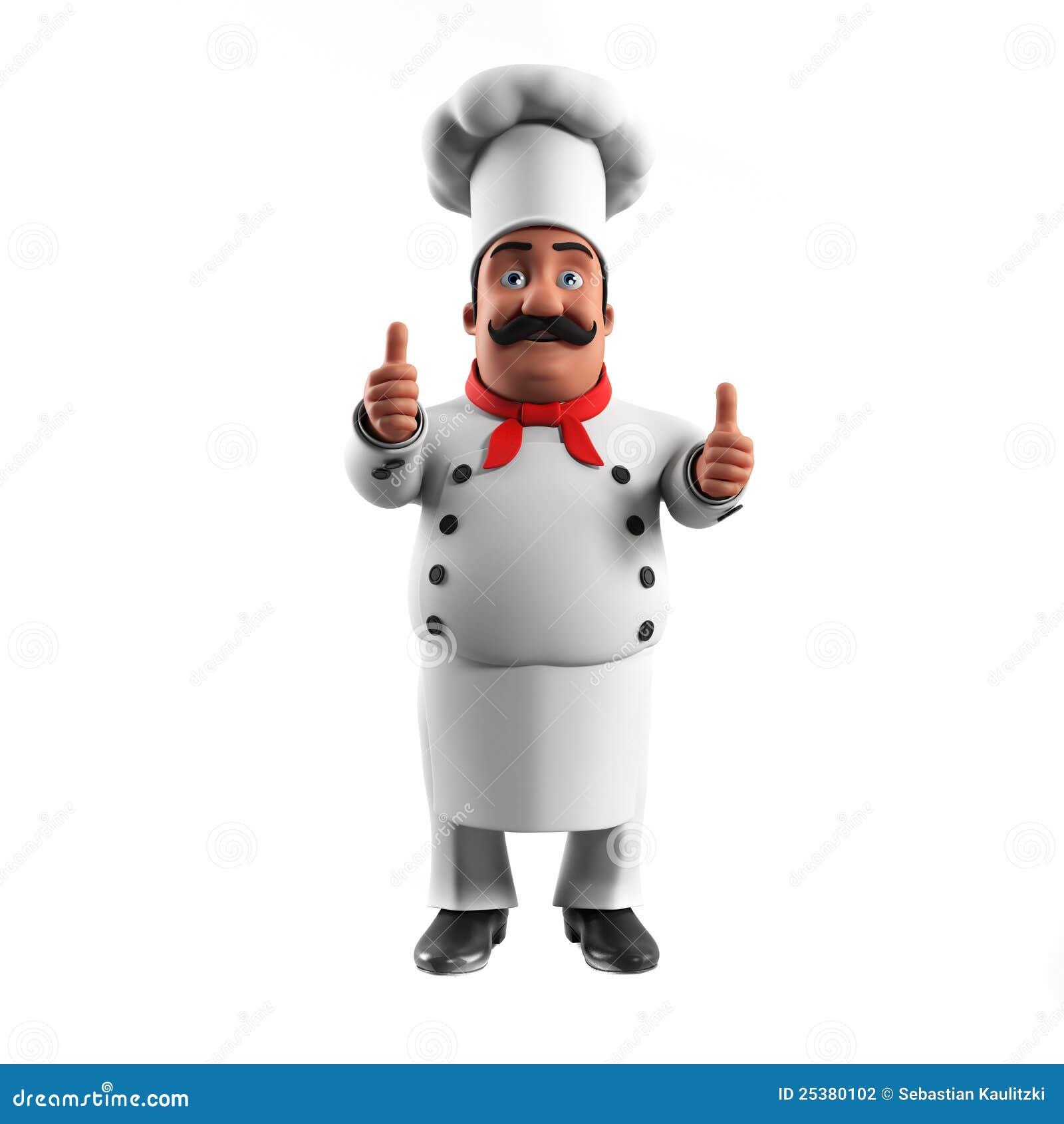 Lustiger Küchechef
