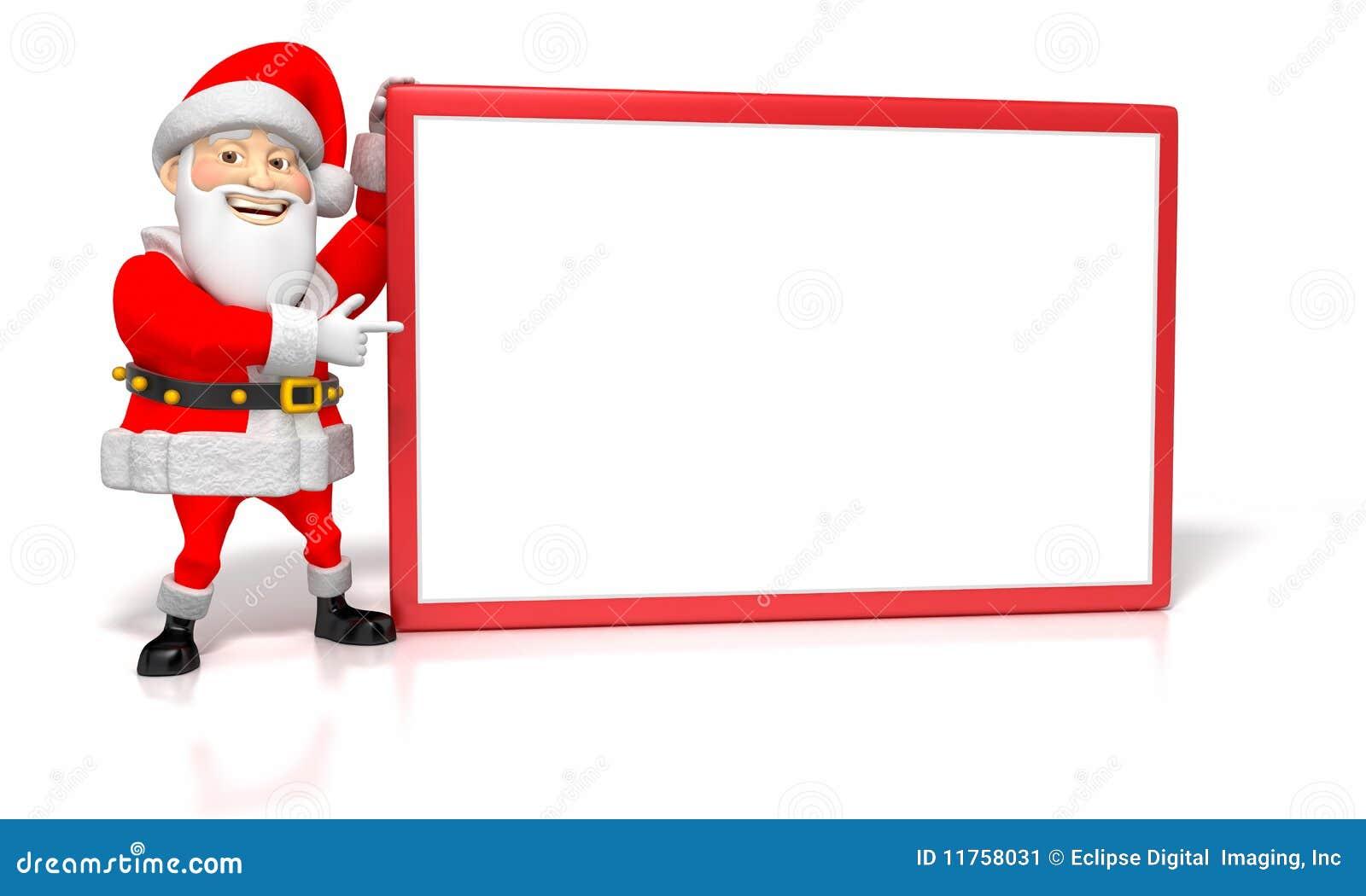 lustiges karikatur weihnachten sankt die auf unbelegten. Black Bedroom Furniture Sets. Home Design Ideas