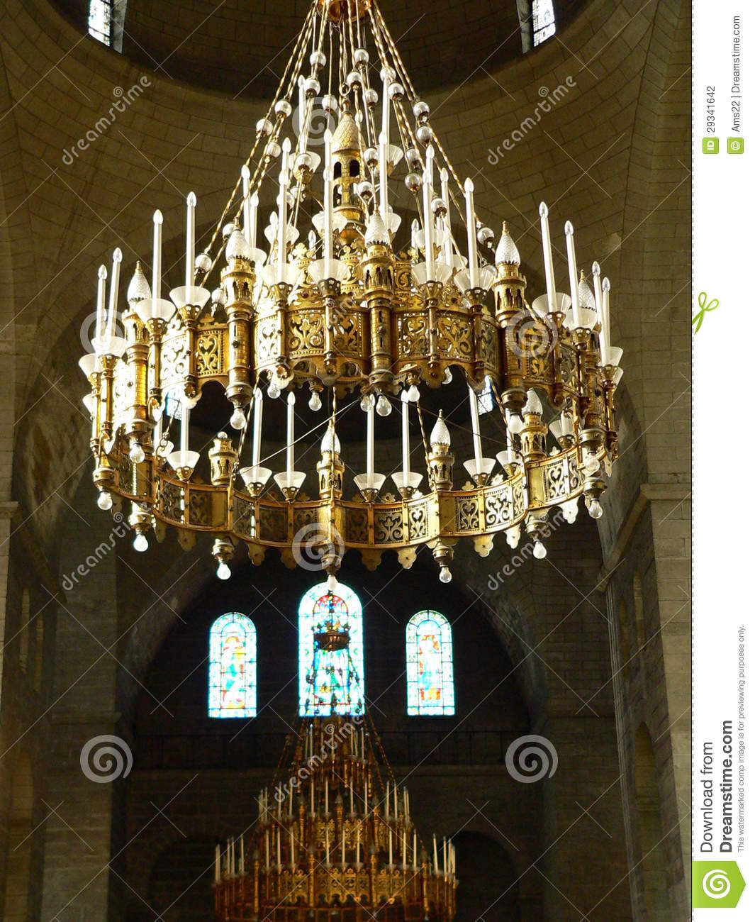 lustres cathedrale saint front perigueux france stock photography image 29341642. Black Bedroom Furniture Sets. Home Design Ideas