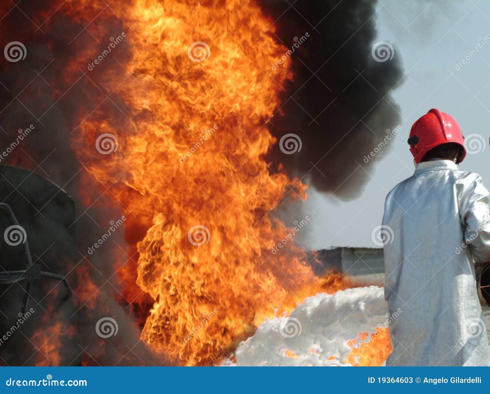 Luta contra o incêndio