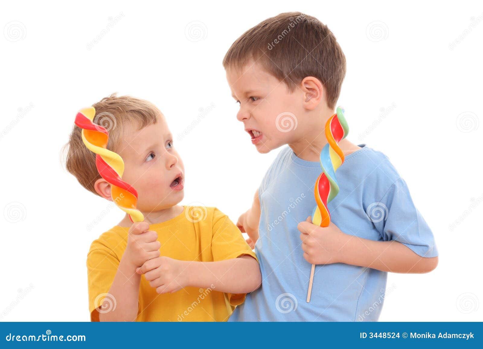Luta das crianças
