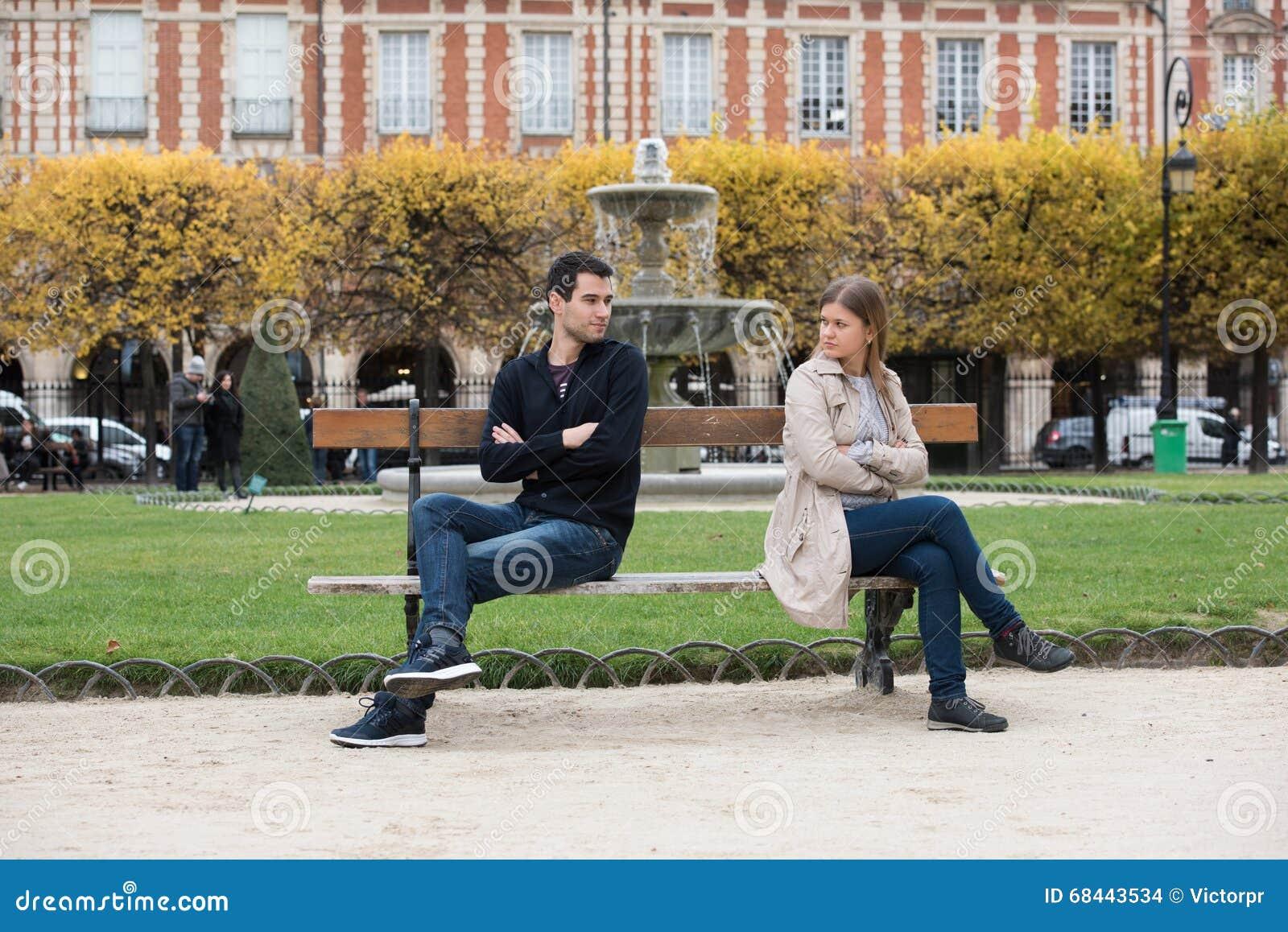 Luta do amor em Paris