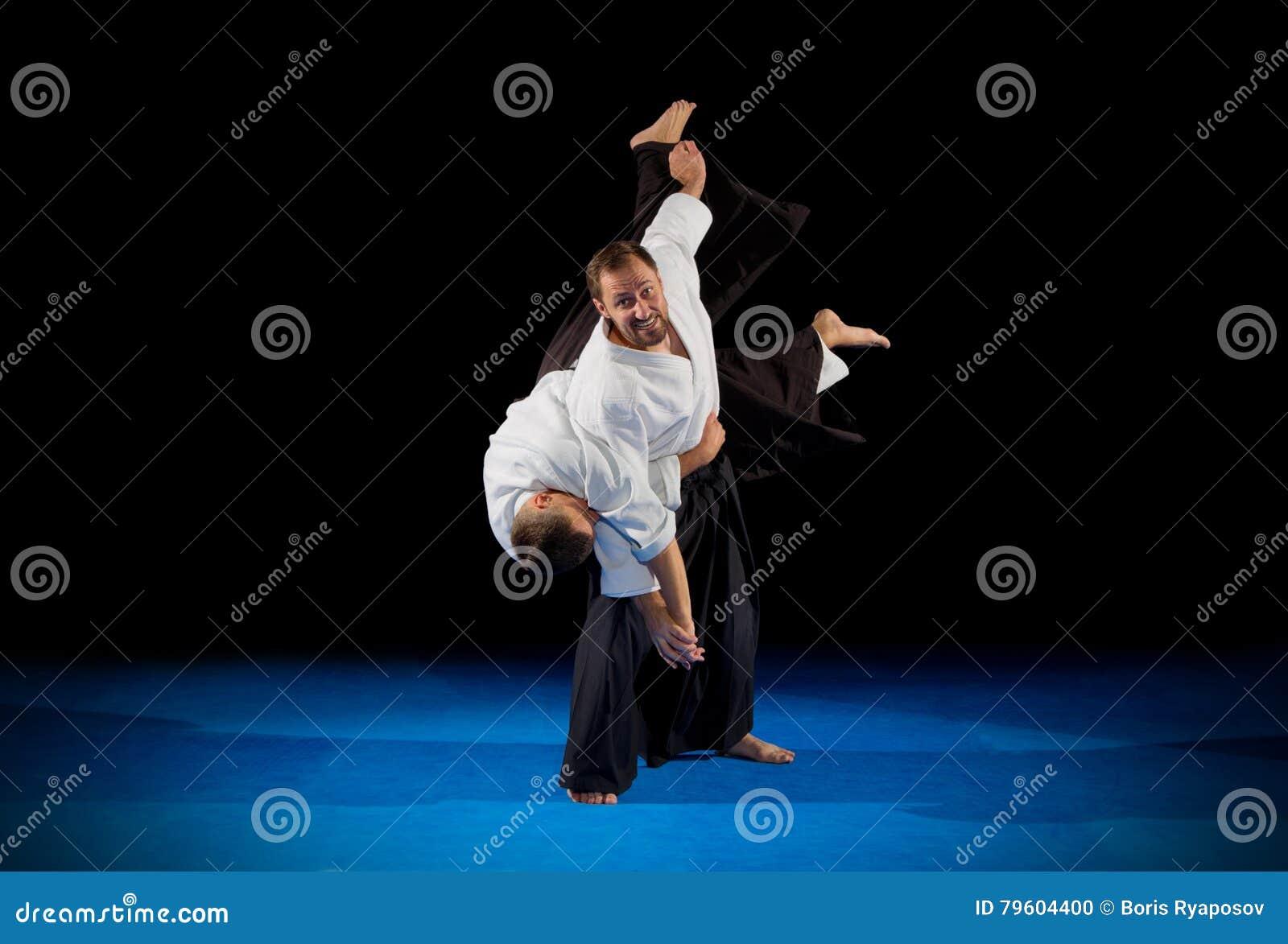 Lutadores das artes marciais