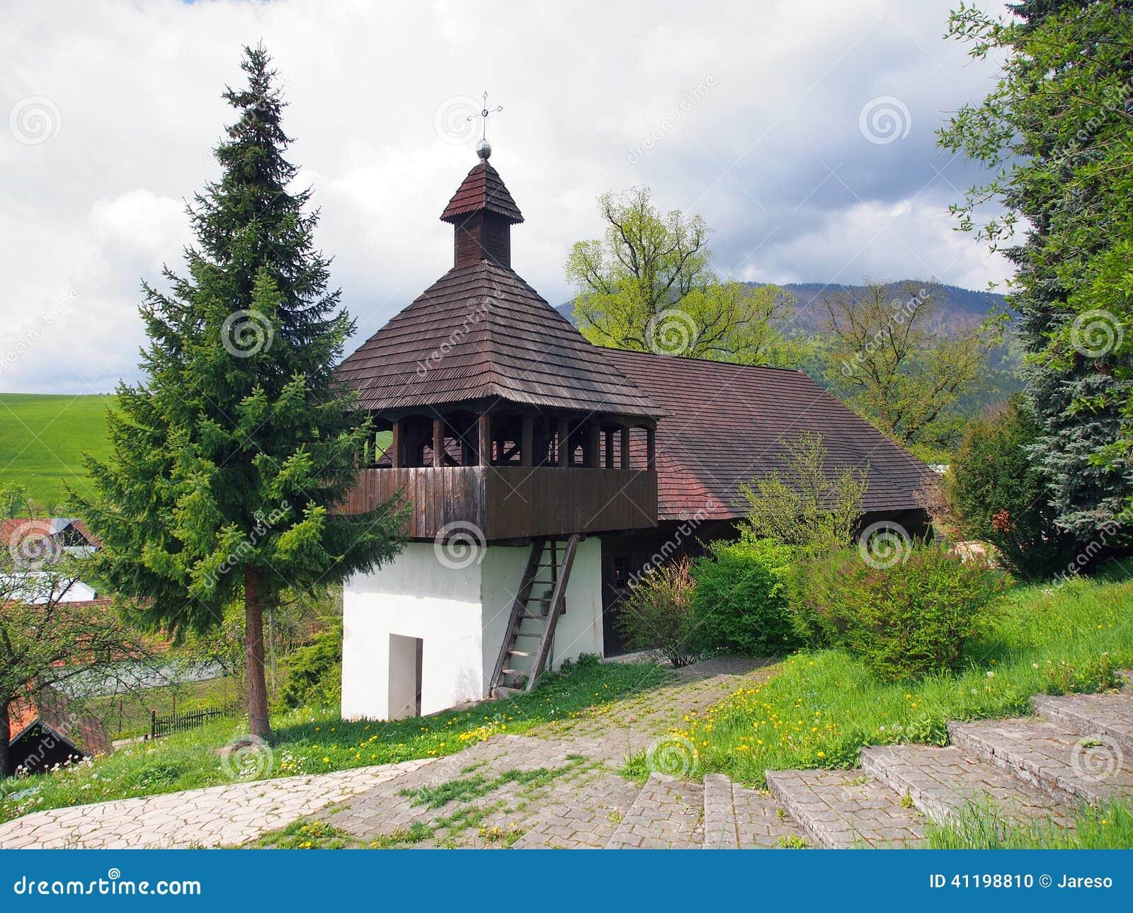 Lutheran church in Istebne village, Slovakia.