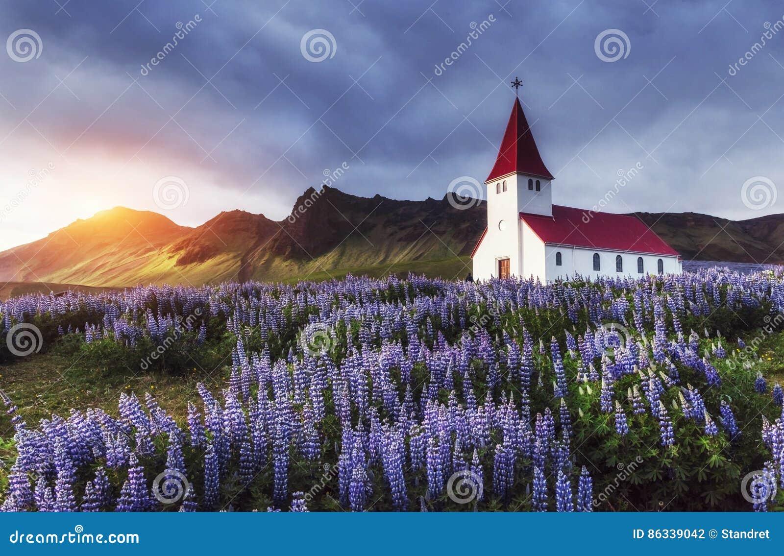 Lutherankyrka i Vik iceland