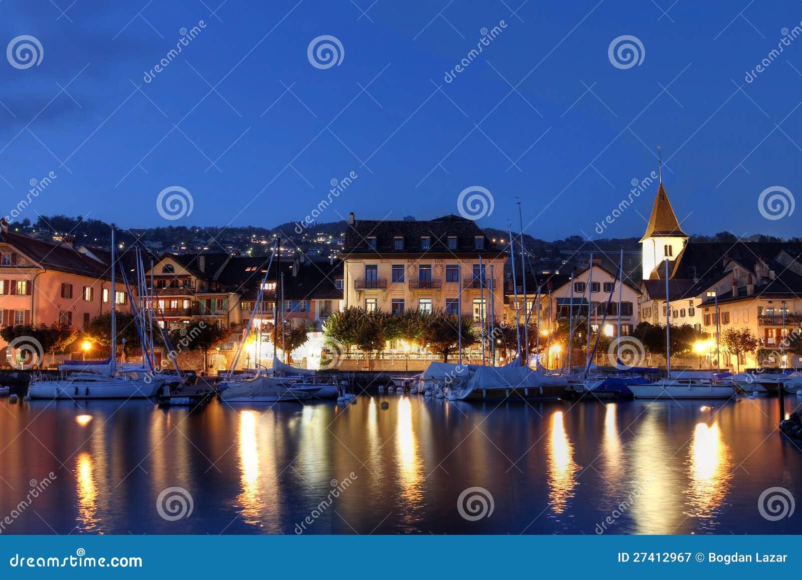 Lutry Switzerland  city photos : Lutry, Switzerland Royalty Free Stock Photography Image: 27412967