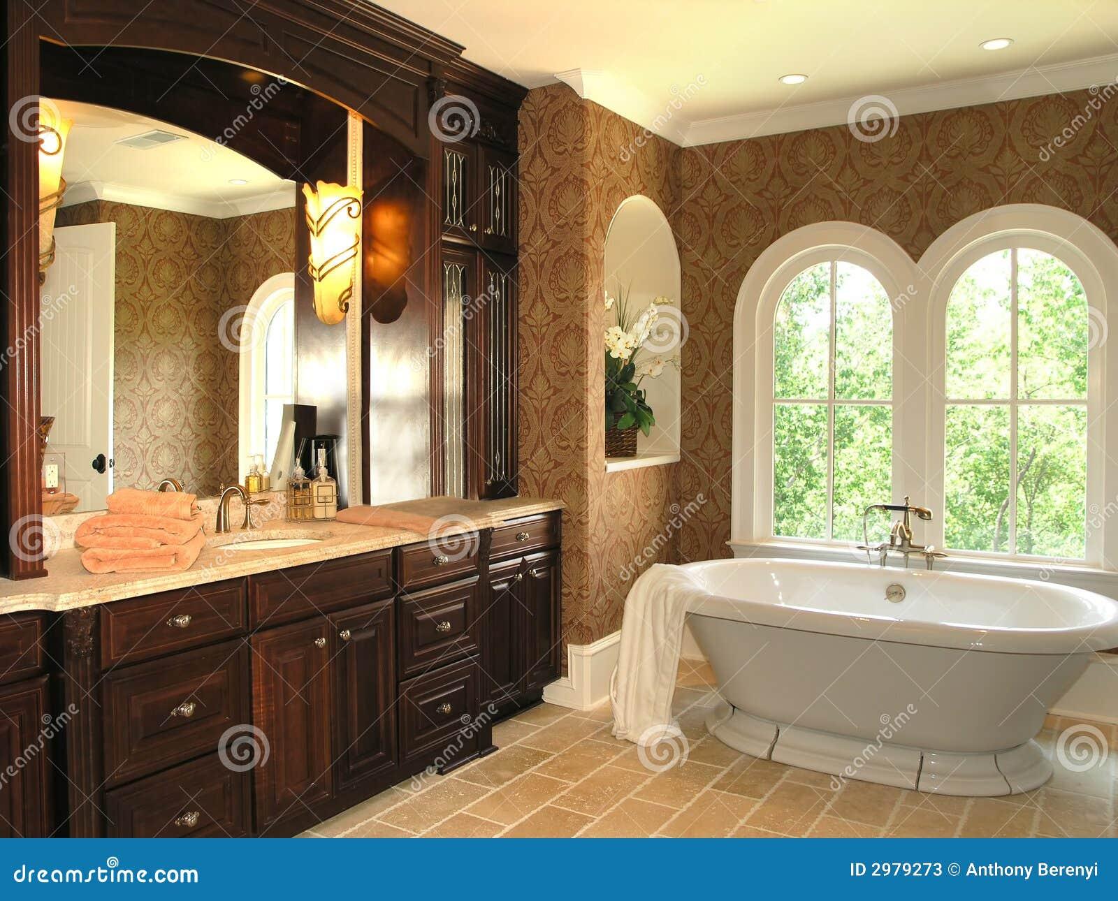 luxe 5 salle de bains 3 photos stock image 2979273. Black Bedroom Furniture Sets. Home Design Ideas