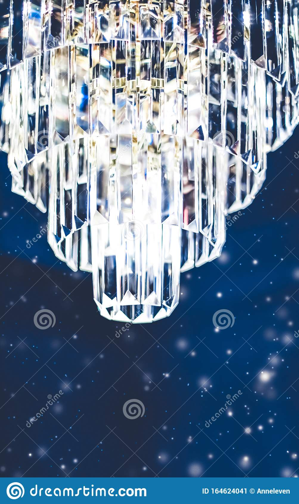 How To Get A Luxury Living Room Pt 1 Golden Lighting: Luxury Chandelier With Crystal Glass, Interior Design And Home Decor Lighting Detail Stock Image