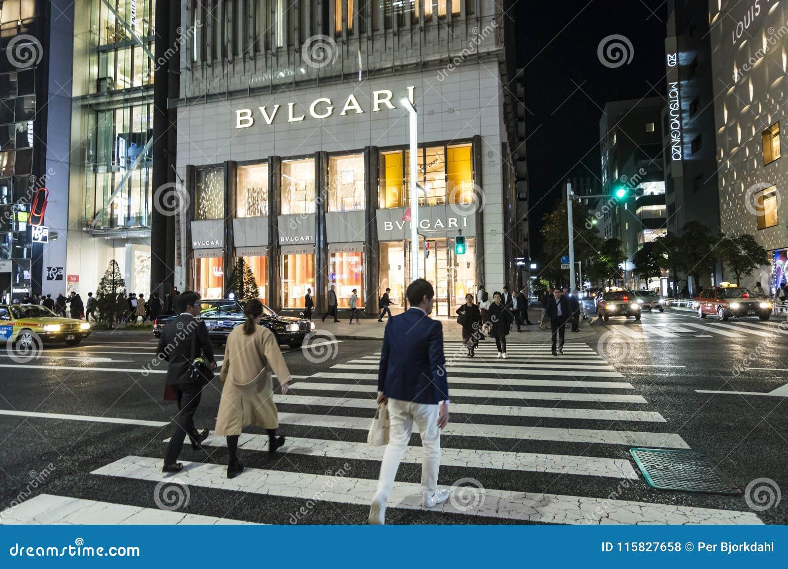 Luxe het winkelen de tijd van straatchuo Dori Night