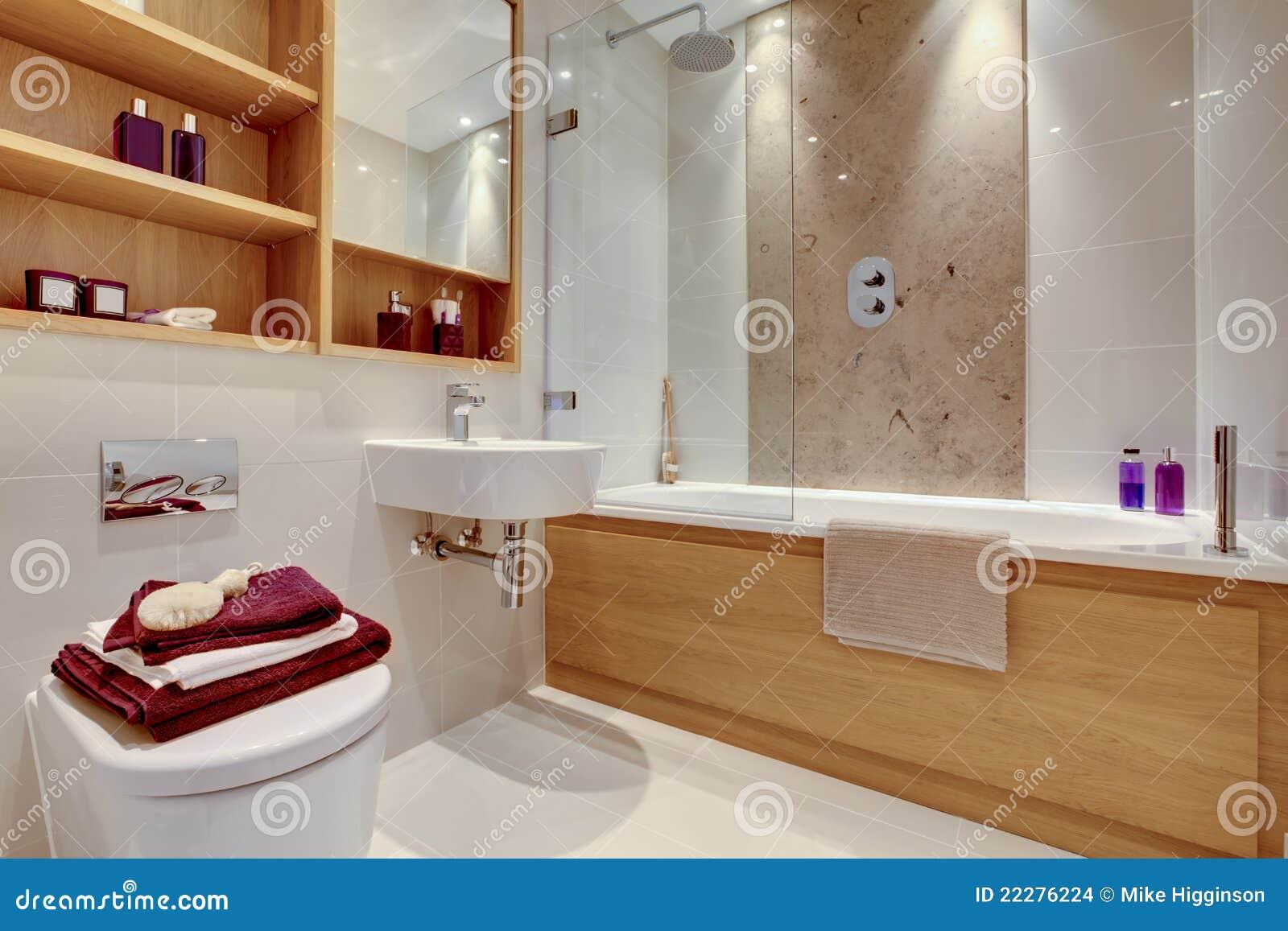 Luxe moderne badkamers stock afbeeldingen afbeelding 22276224 - Moderne luxe badkamer ...