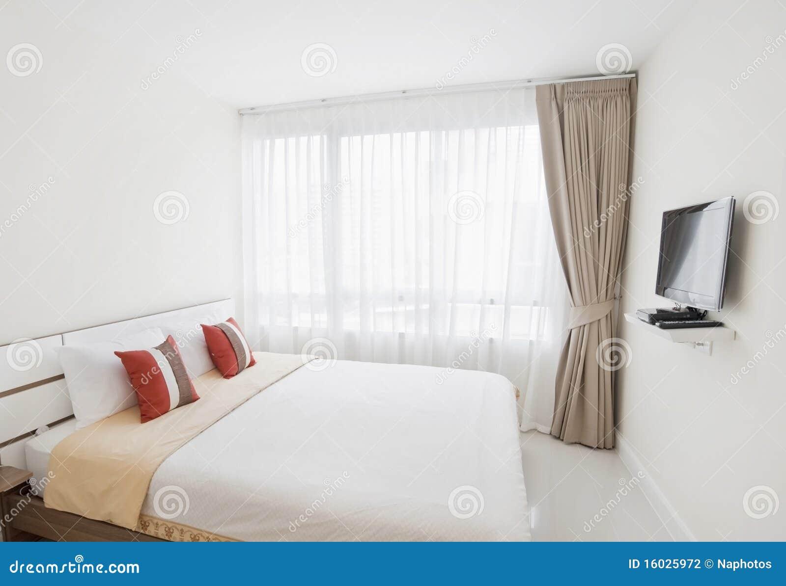Luxe slaapkamer stock fotografie   afbeelding: 16025972