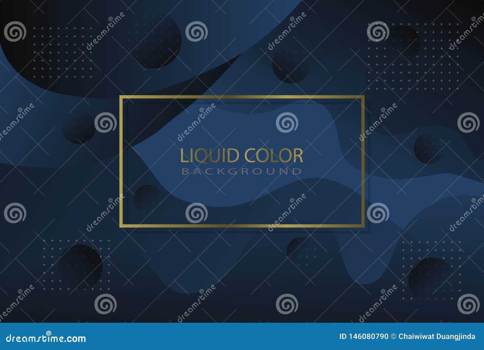 Luxe vloeibare kleur als achtergrond