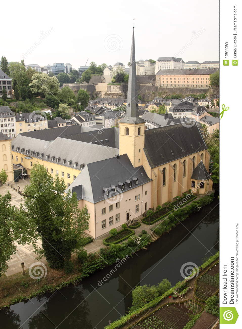 Luxembourg city - old monastery