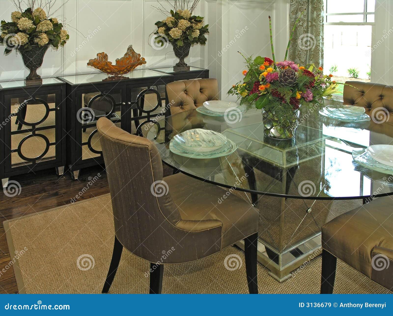 Cadeiras Para Sala De Jantar Luxo ~ Luxo 7  Sala De Jantar 2 Imagens de Stock Royalty Free  Imagem