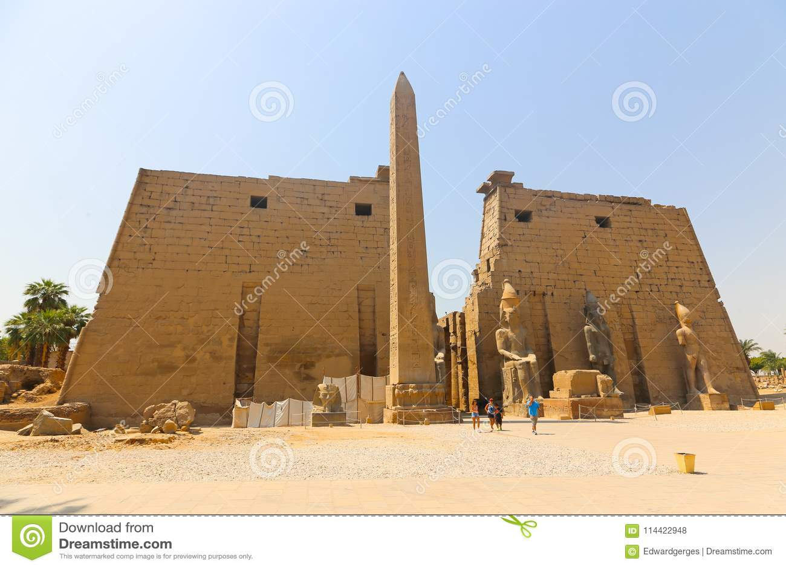 Luxor świątynia - Egipt