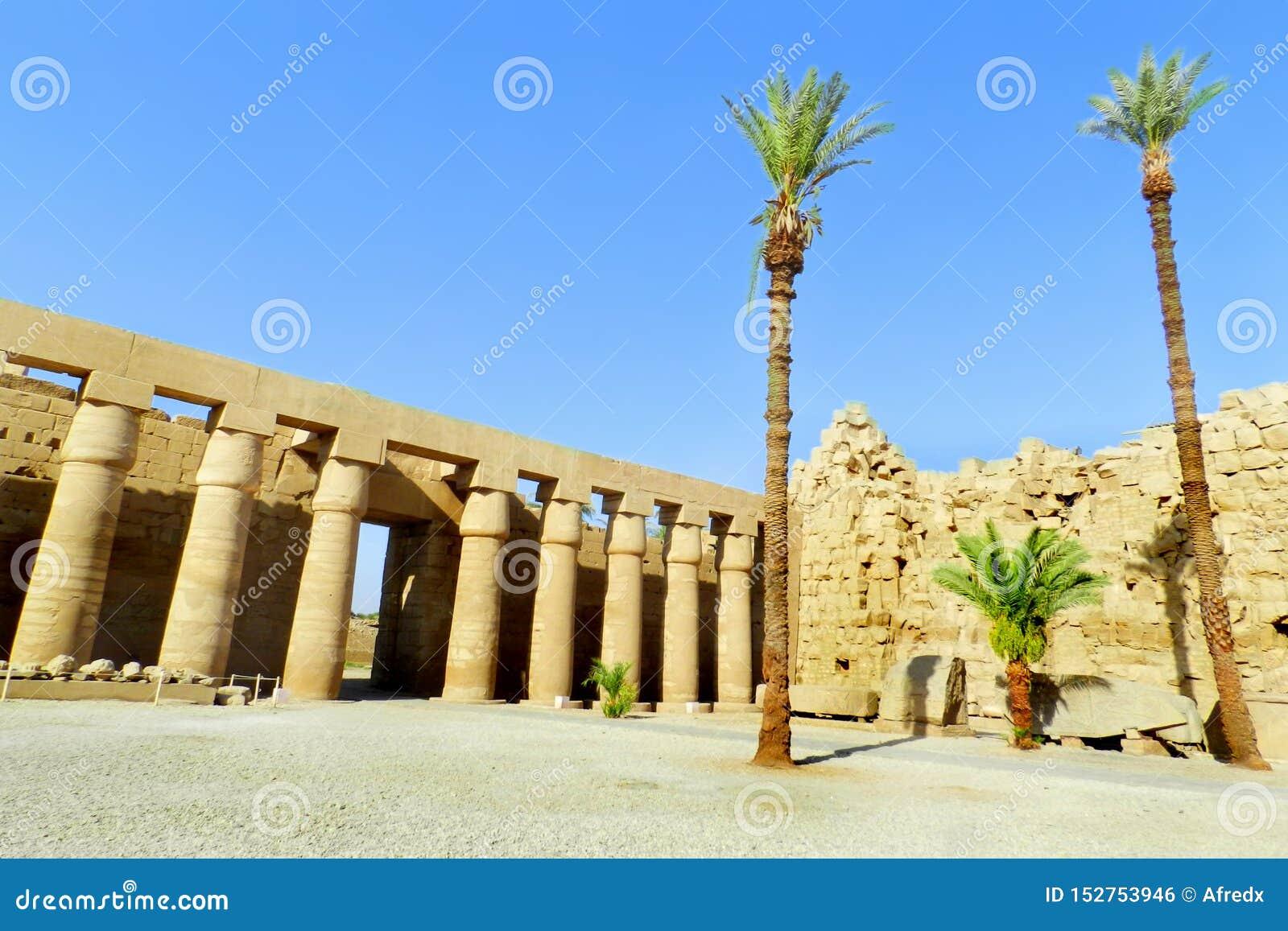 Luxor, tempio di Karnak nell Egitto