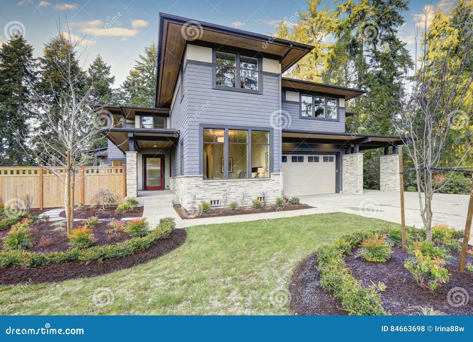 Luxueus nieuwe bouwhuis in Bellevue, WA