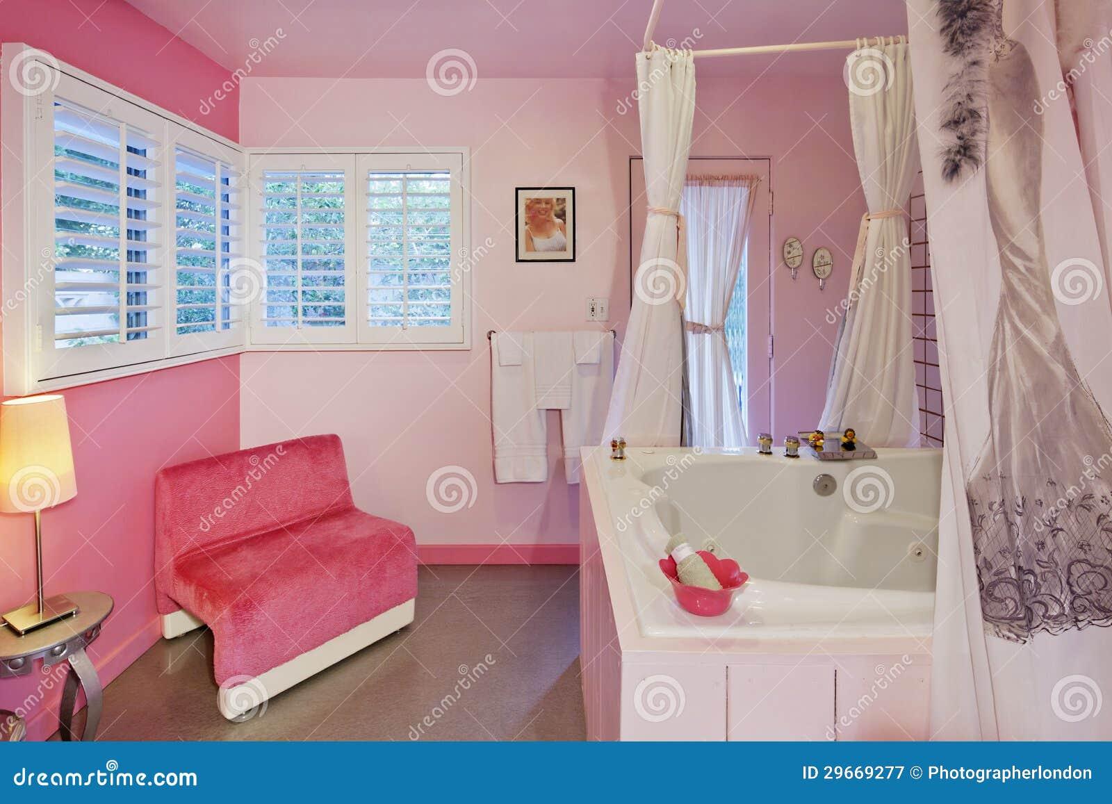 Luxueuze badkamers binnenlands ontwerp stock afbeelding afbeelding 29669277 - Badkuip ontwerp ...