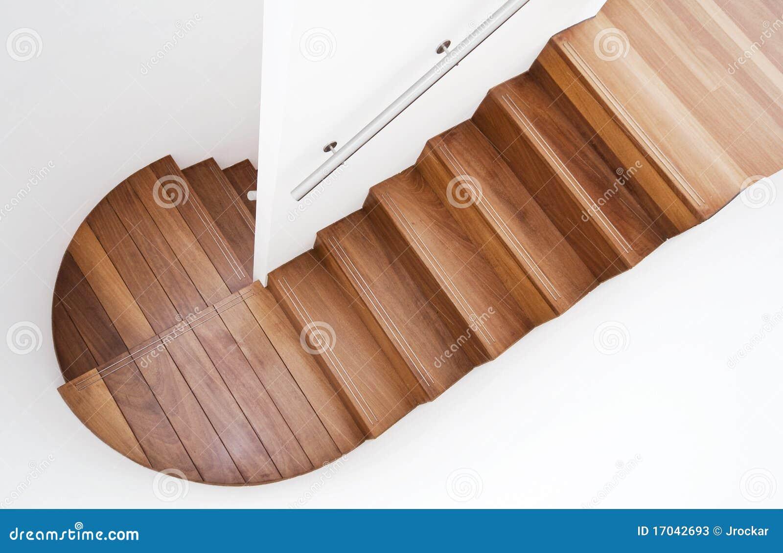 Luxueuze houten trap stock afbeelding afbeelding bestaande uit binnen 17042693 - Houten trapontwerp ...