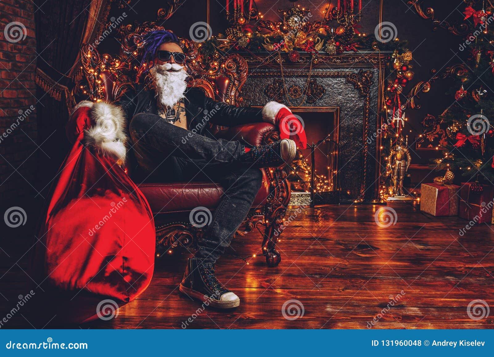 Luxurious apartment of santa