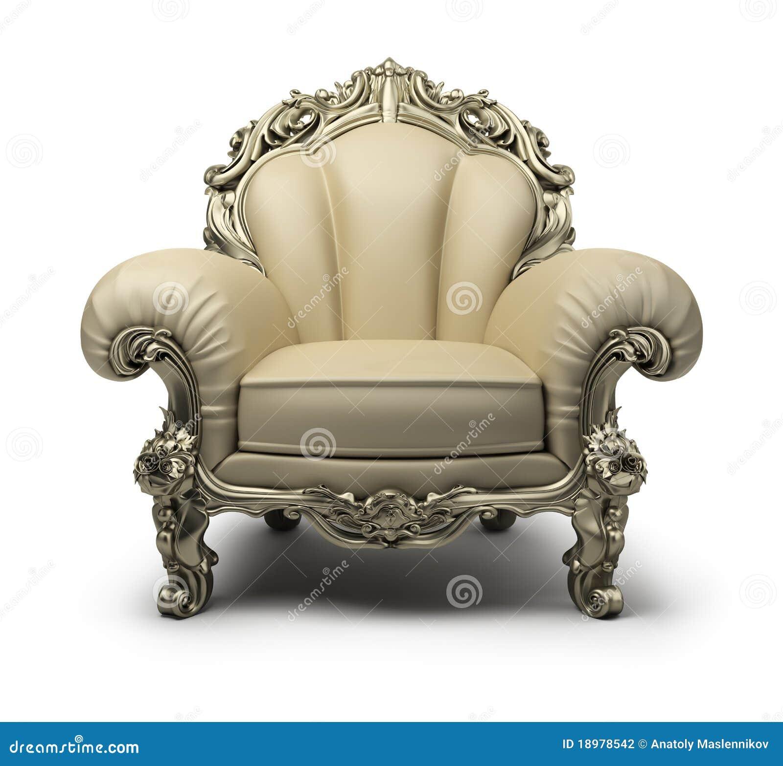 Luxurious Armchair Stock Illustration Illustration Of