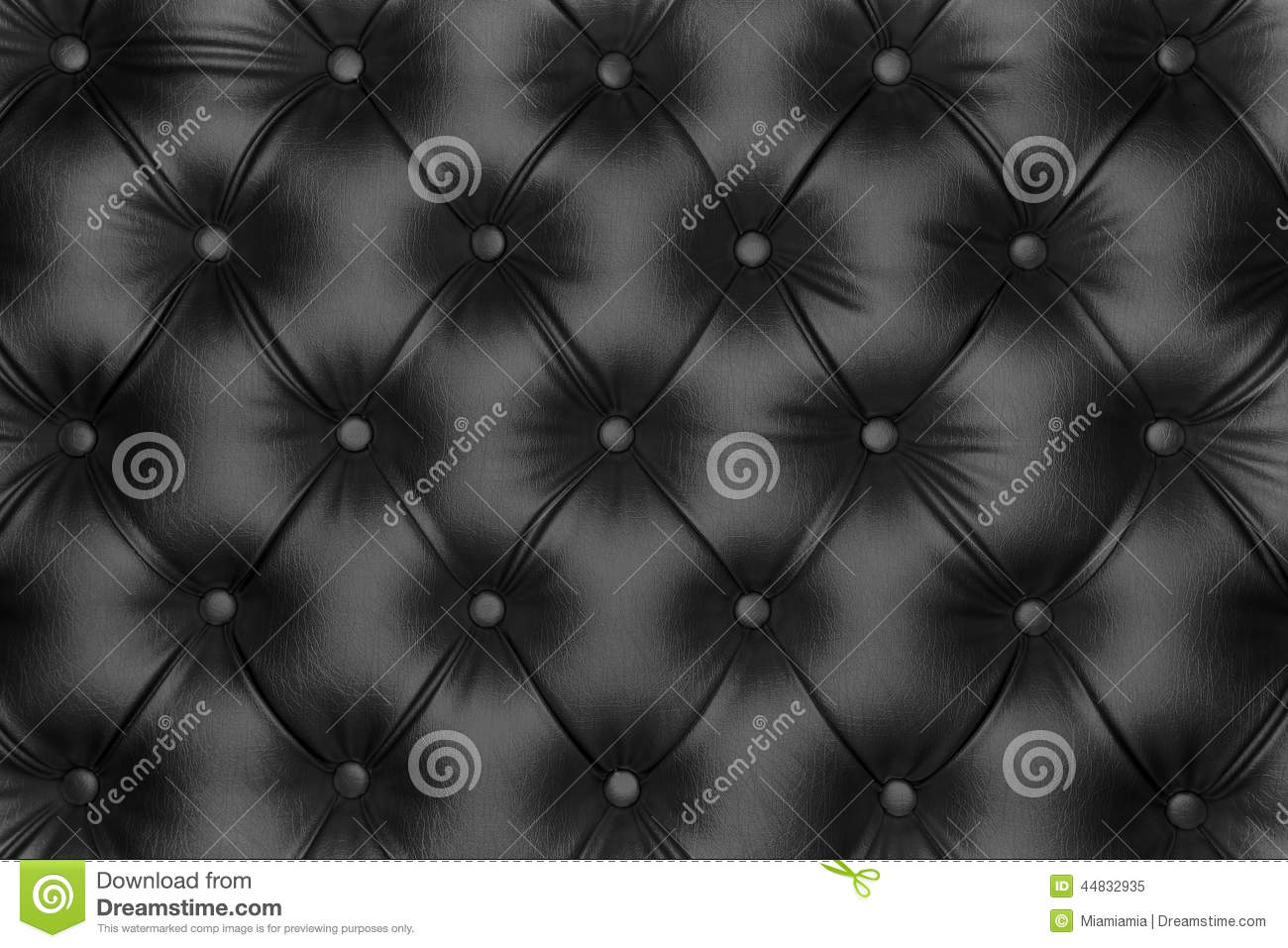 Black leather chair texture - Luxurious Black Leather Texture Royalty Free Stock Photo