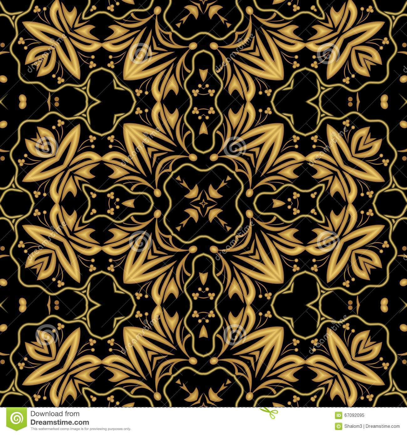 Golden brocade background royalty free stock photo 73110333 - Brocade home decor style ...