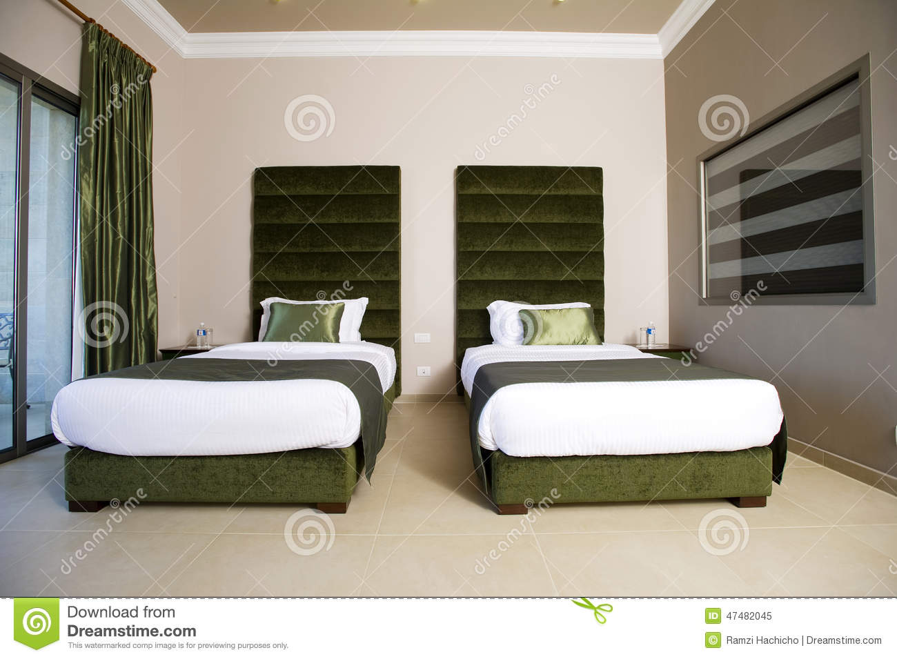 Luxurious hotel bedroom with balconies 5 stars luxury Meuble 5 etoile mnihla