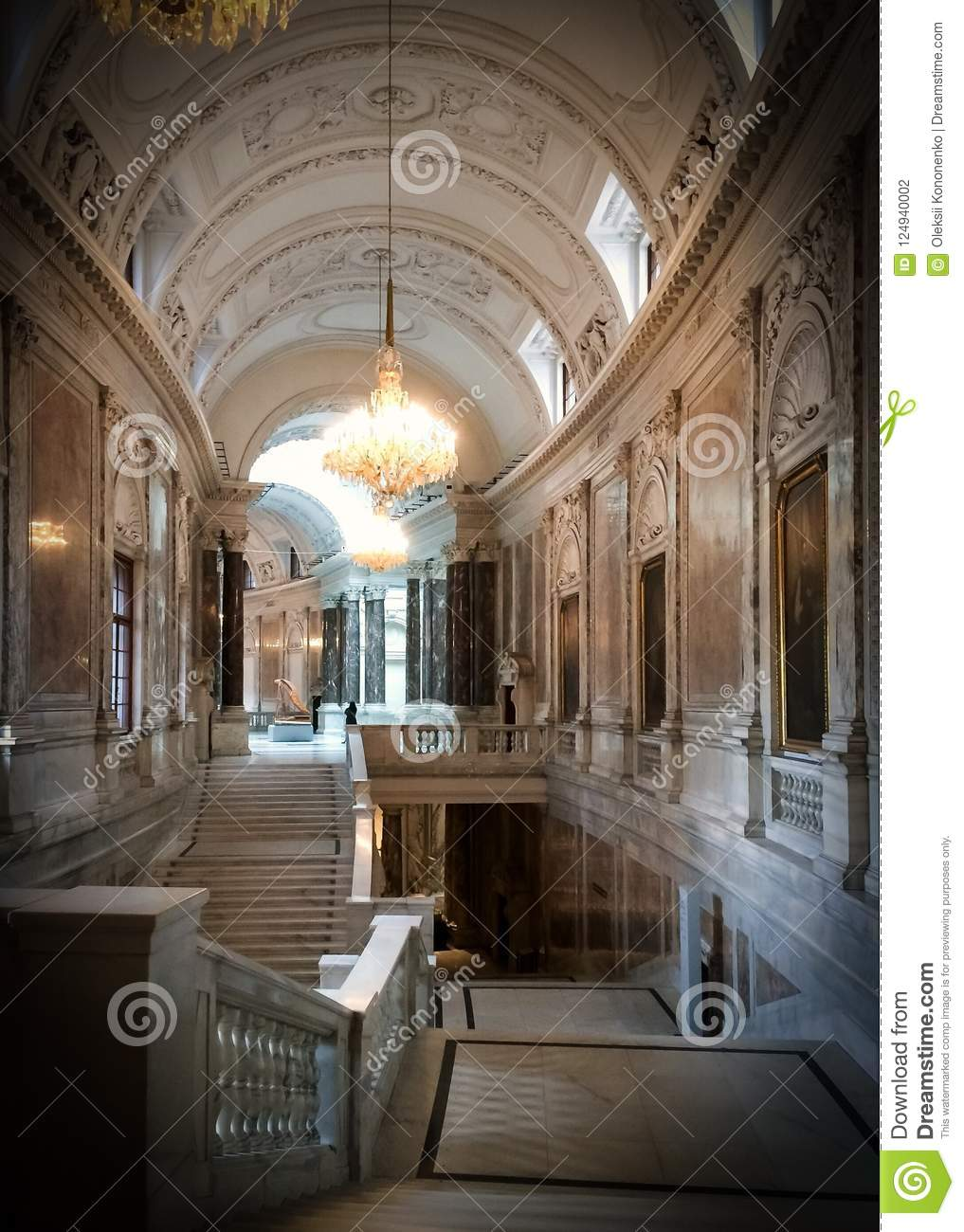 Luxurious Interior Stock Photo Image Of Domestic Class 124940002