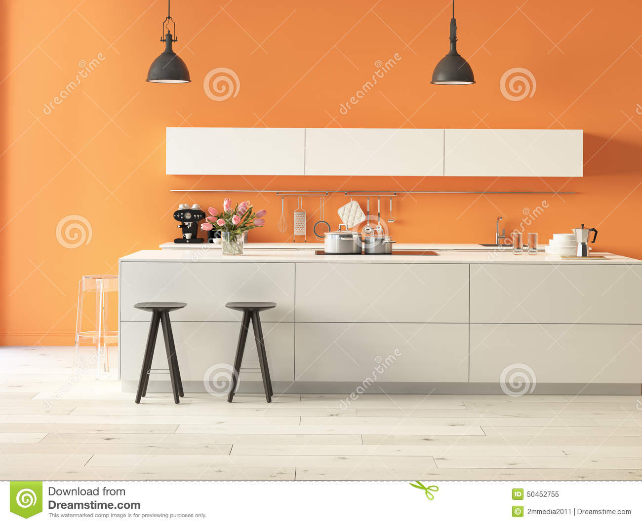 Luxurious kitchen with stainless steel appliances stock photo image 50452755 - Luxurious kitchen appliances ...