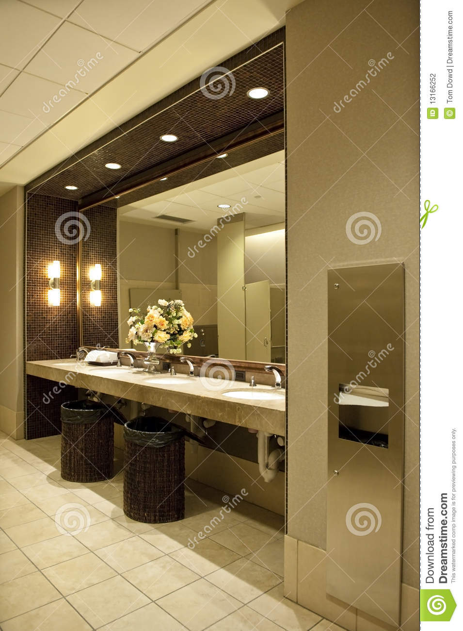 luxurious public bathroom stock photo image of modern 13166252 rh dreamstime com