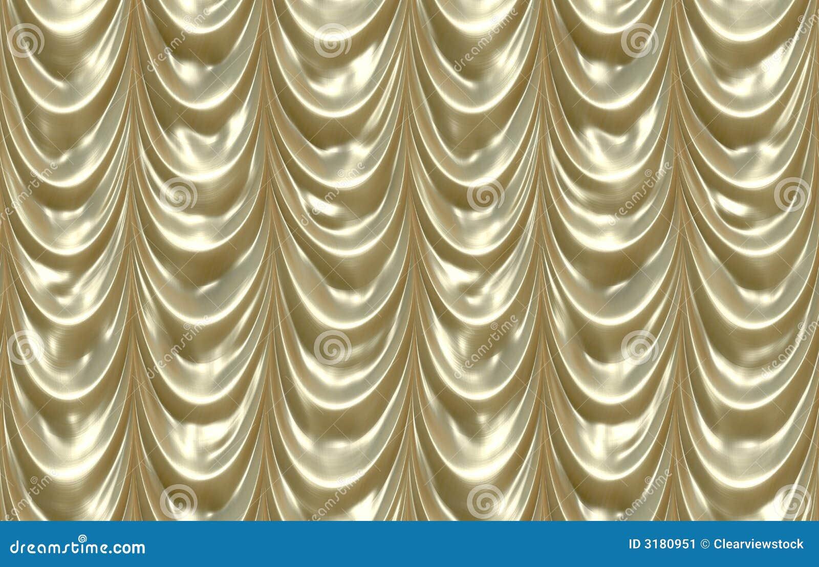 luxurious shiny gold curtains stock image image 3180951