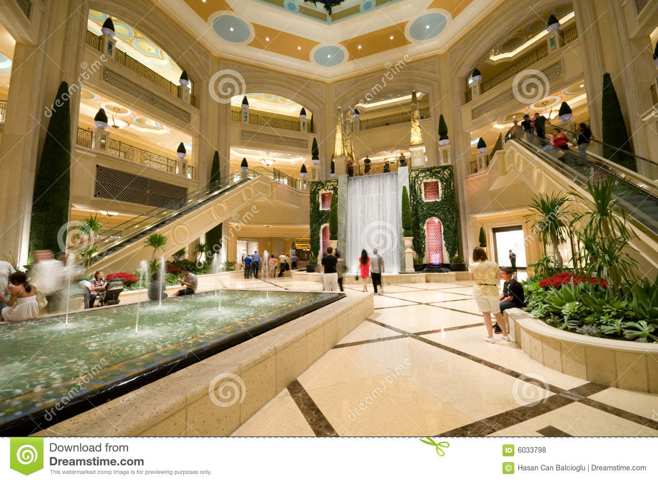Luxurious Shopping Mall Editorial Stock Photo Image Of