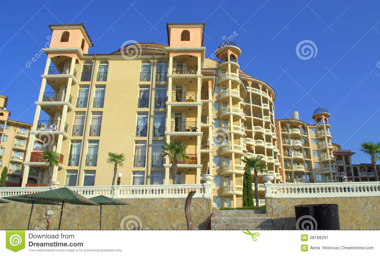 Luxurious vacation complex