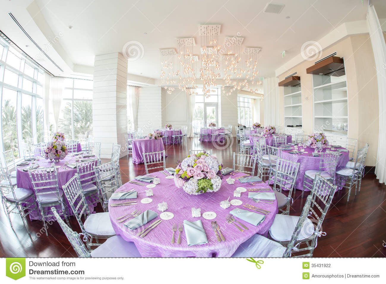 wedding decor ideas for reception luxurious wedding reception stock photo image of tables 8991