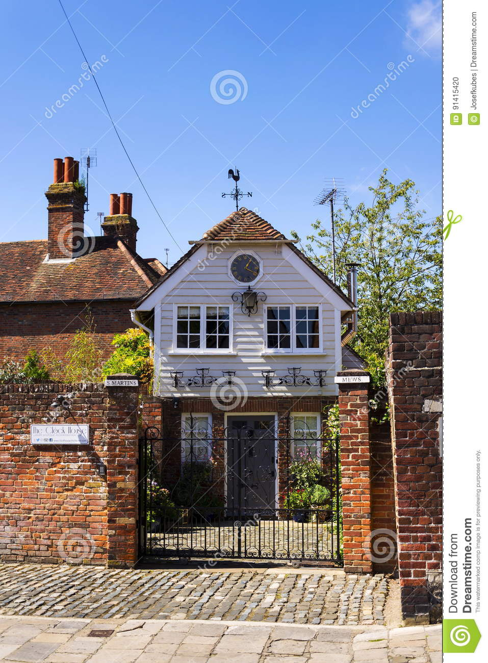 Luxury accommodation offered by Airbnb on August 12, 2016 in Chichester, United Kingdom.