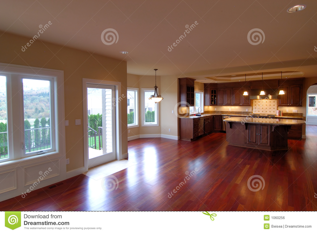 Luxury american house interior no 3 royalty free stock for American house interior decoration