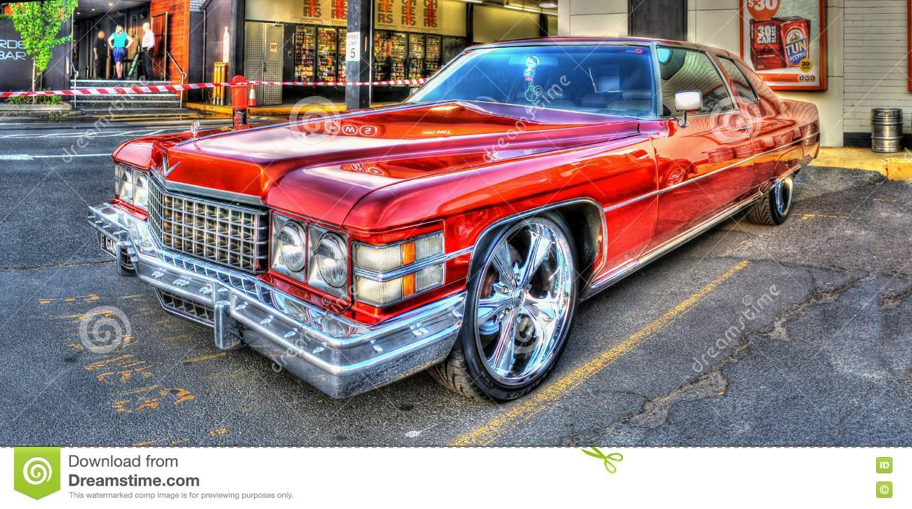 Cadillac Anni 70.Luxury American 1970s Cadillac Editorial Photo Image Of