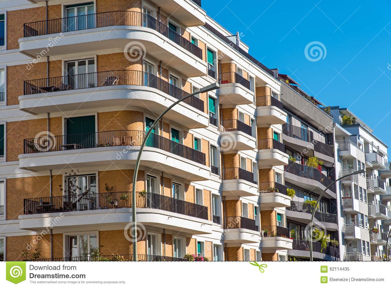 luxury apartment buildings stock photo image 62114435
