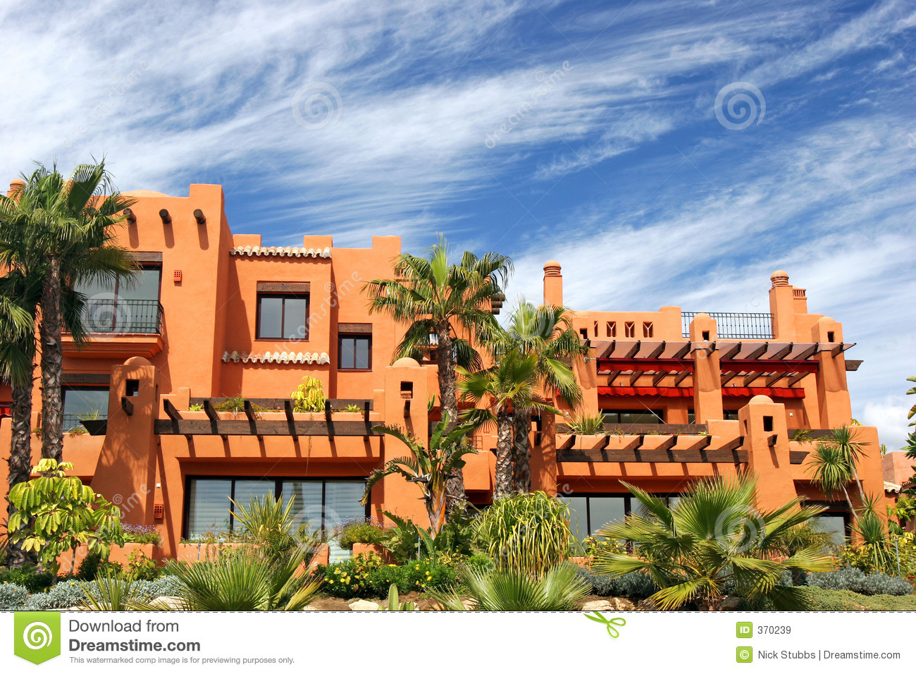Luxury Apartments And Gardens On Urbanisation In Spain ...