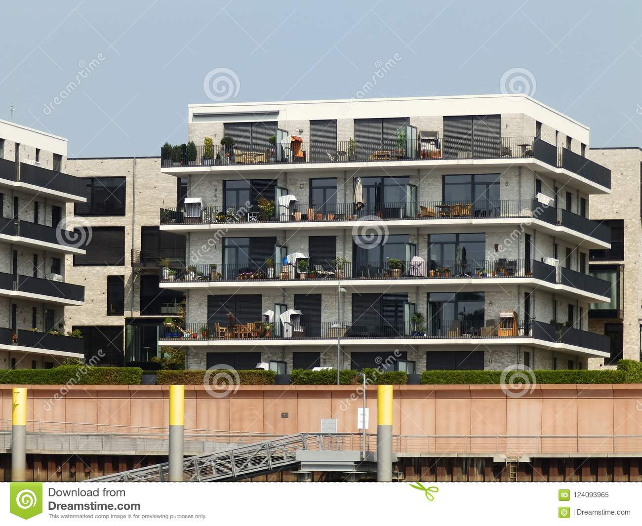 Luxury Apartments In Germany 5 Stock Image Image Of Bremen