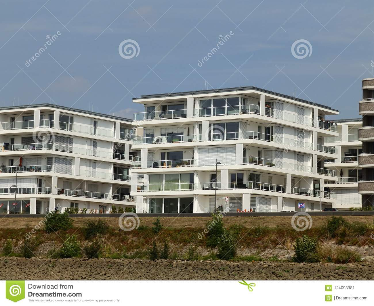 Luxury Apartments In Germany 6 Stock Image - Image of ...