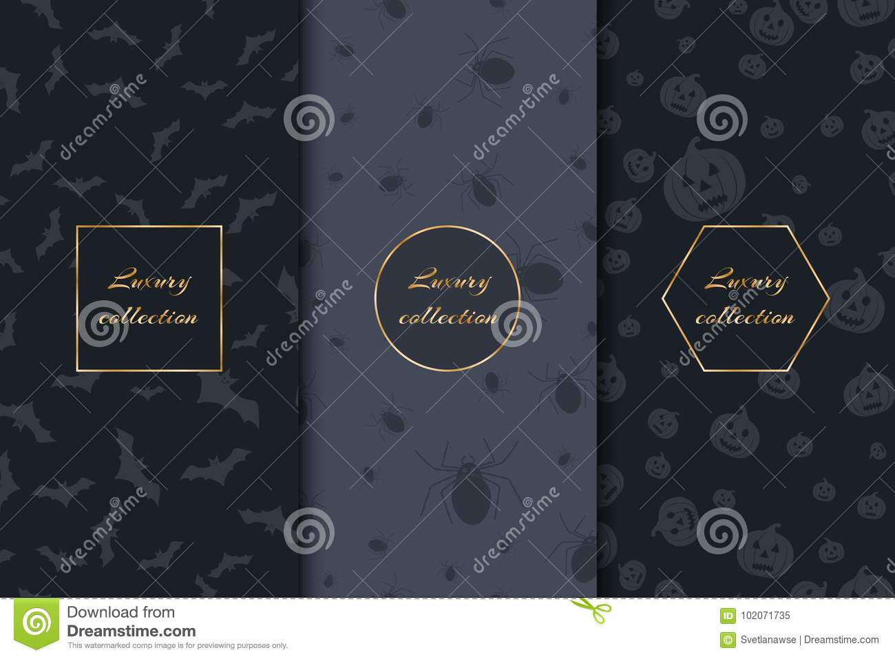 luxury backgrounds for halloween stock vector - illustration of