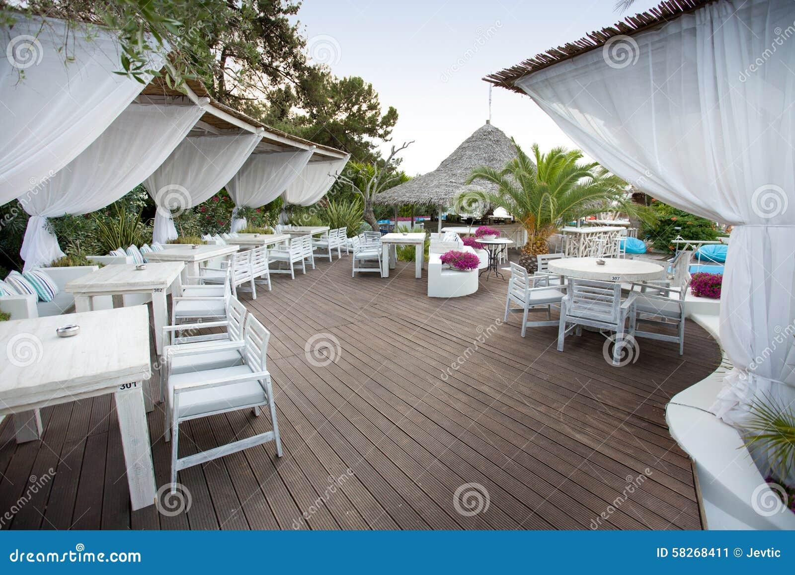 Luxury Bar At Beach Stock Photo Image 58268411