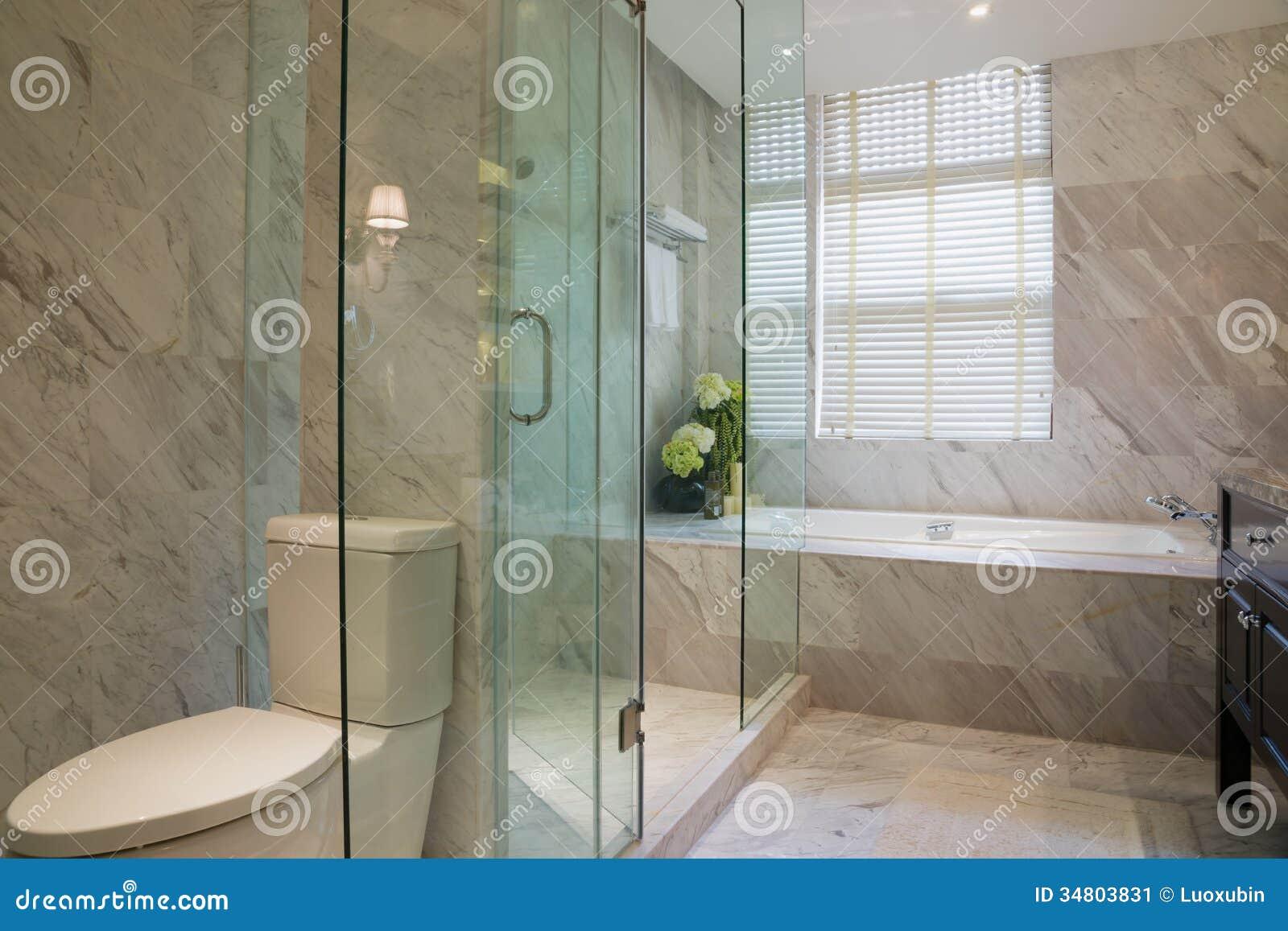 luxury bathroom stock image - image: 34803831