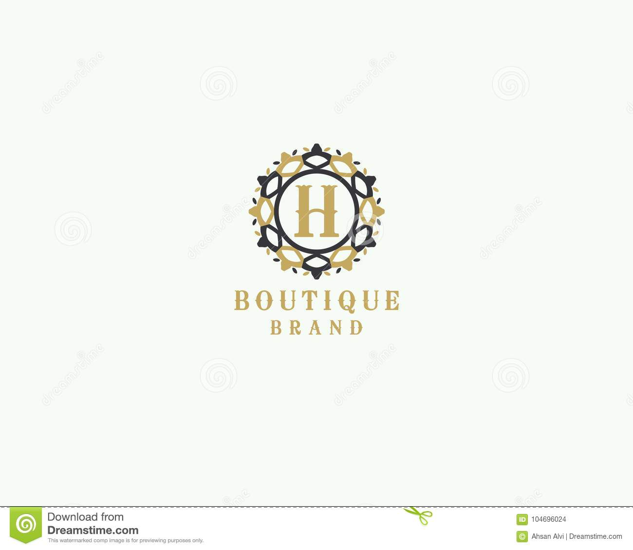 Beauty spa and salon letter h vector icon luxury hotel h letter download beauty spa and salon letter h vector icon luxury hotel h letter logo altavistaventures Choice Image