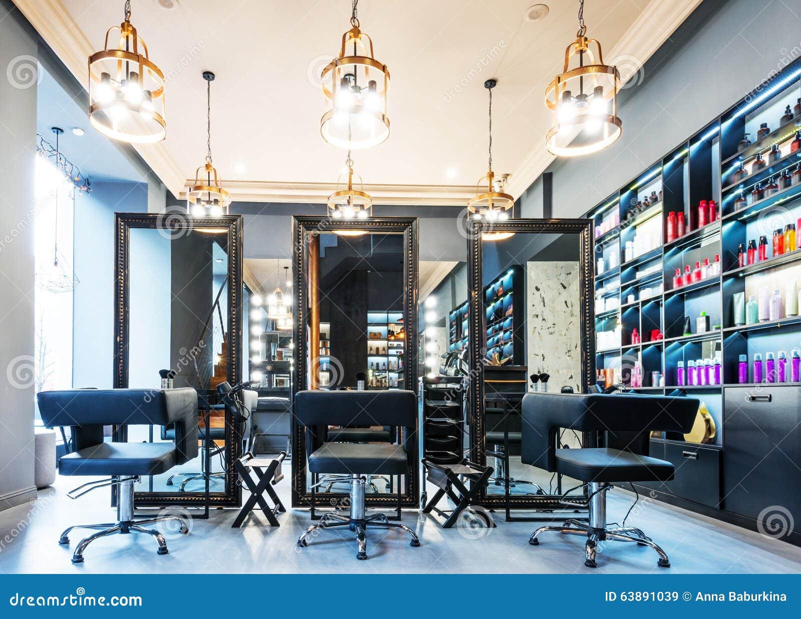Luxury beauty salon stock image Image of empty inside 63891039