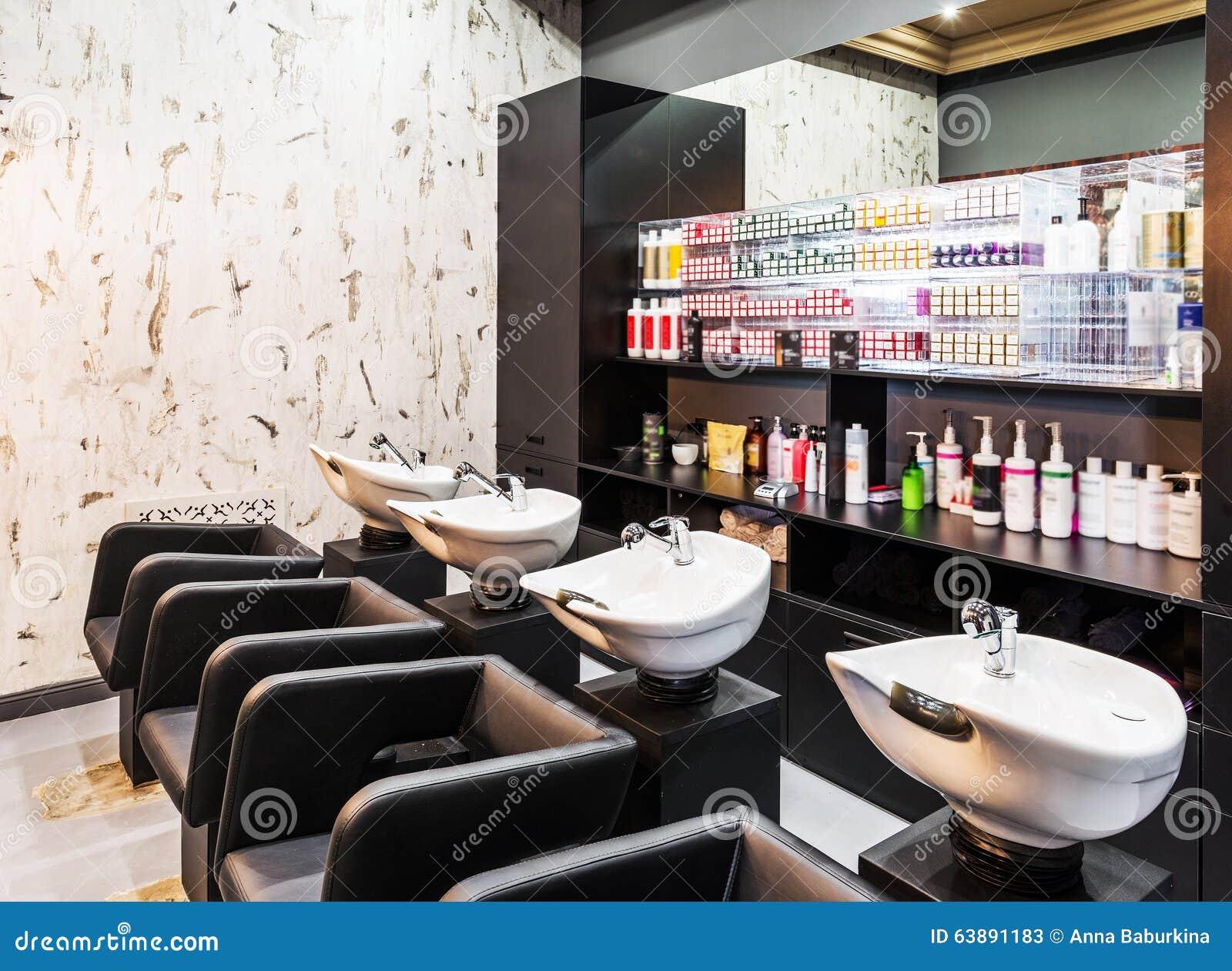 Luxury beauty salon stock image Image of comfortable 63891183