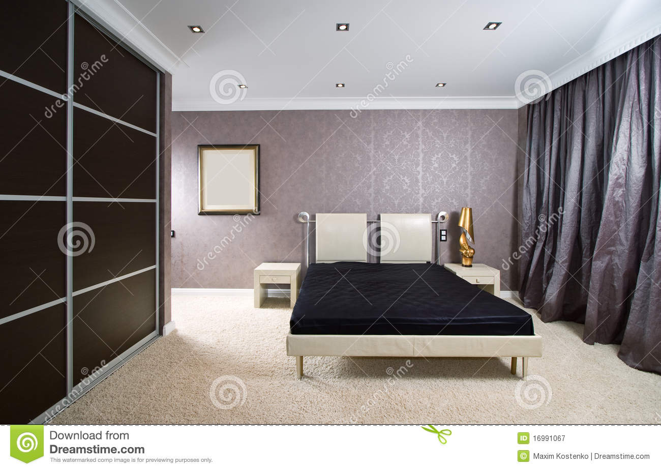 Luxury Bed, Close up Royalty Free Stock Photography