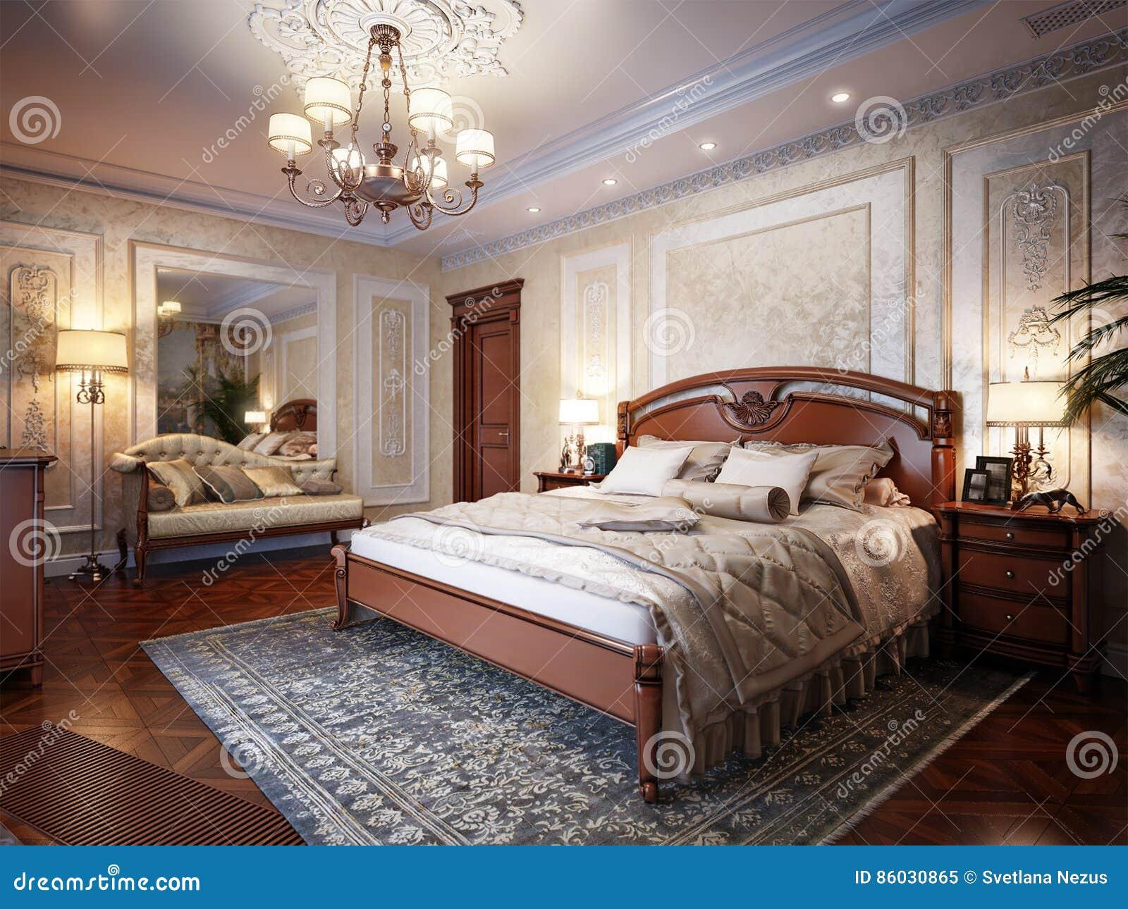 Luxury Classic Interior Design Bedroom Luxury bedroom interior design in classic style